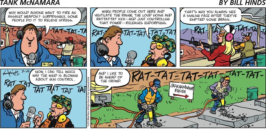 Tank McNamara Comic Strip for March 10, 2013