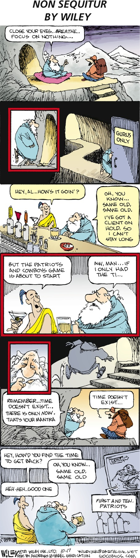 Non Sequitur by Wiley Miller on Sun, 17 Oct 2021