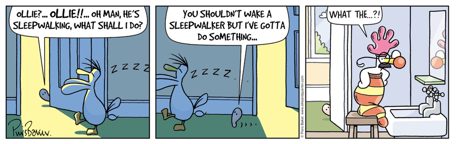 Ollie and Quentin for Mar 6, 2013 Comic Strip