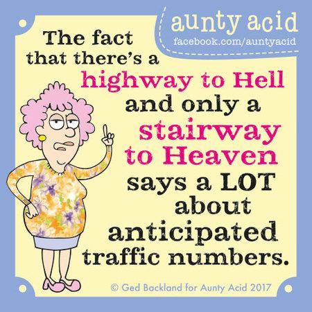 Aunty Acid for Dec 8, 2017 Comic Strip