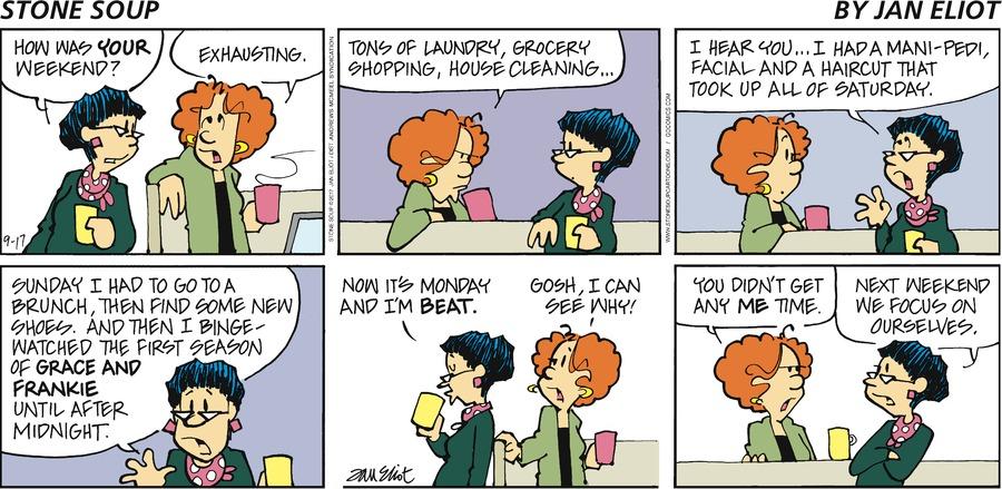 Stone Soup for Sep 17, 2017 Comic Strip