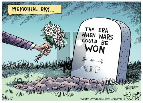 Rob Rogers on Sunday May 28, 2017 Comic Strip