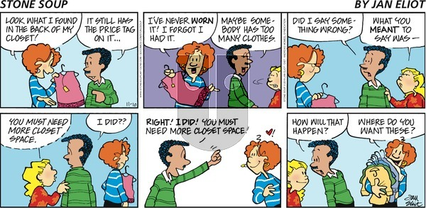 Stone Soup on Sunday November 10, 2019 Comic Strip