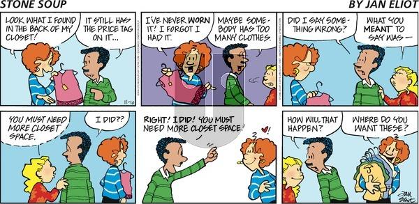 Stone Soup - Sunday November 10, 2019 Comic Strip