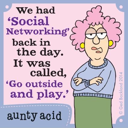 Aunty Acid Comic Strip for February 12, 2014