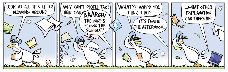 Ollie and Quentin Comic Strip for January 14, 2021