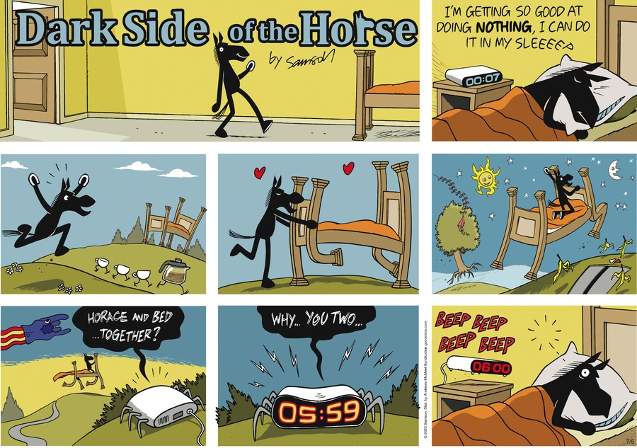 Dark Side of the Horse Comic Strip for July 05, 2020