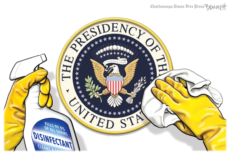 Clay Bennett Comic Strip for July 21, 2020