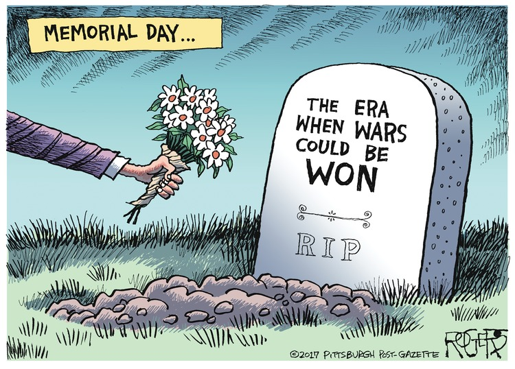 Rob Rogers Comic Strip for May 28, 2017