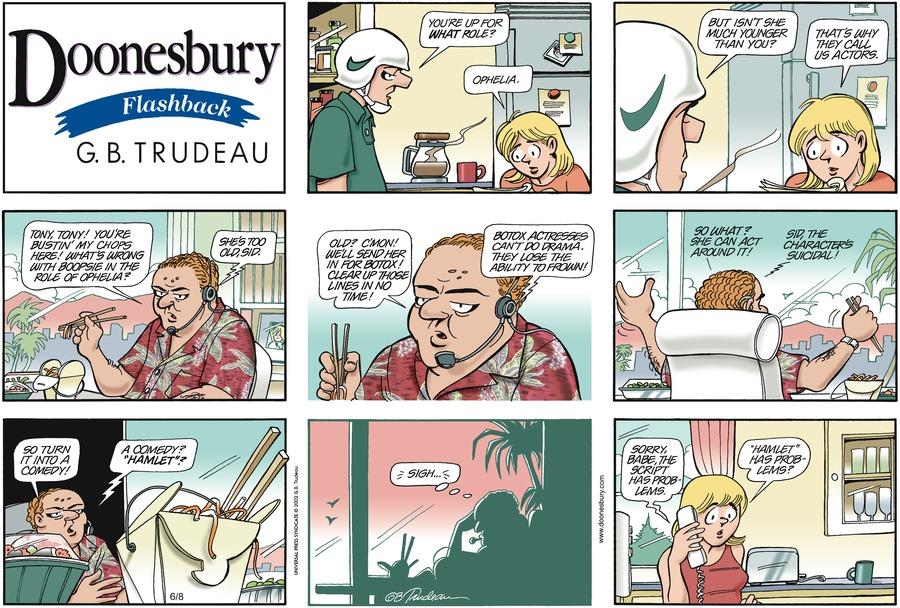 Doonesbury for Jun 8, 2003 Comic Strip