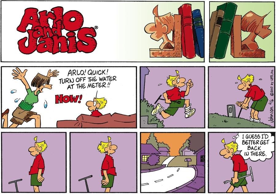 Arlo and Janis Comic Strip for June 06, 2010