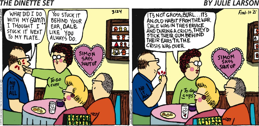 The Dinette Set for Mar 24, 2013 Comic Strip