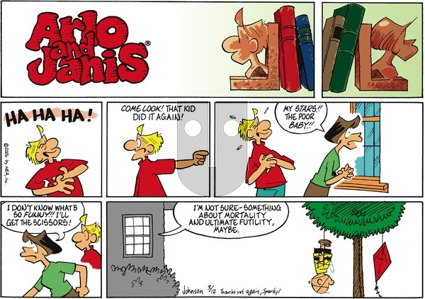 Arlo and Janis on Sunday March 12, 2006 Comic Strip