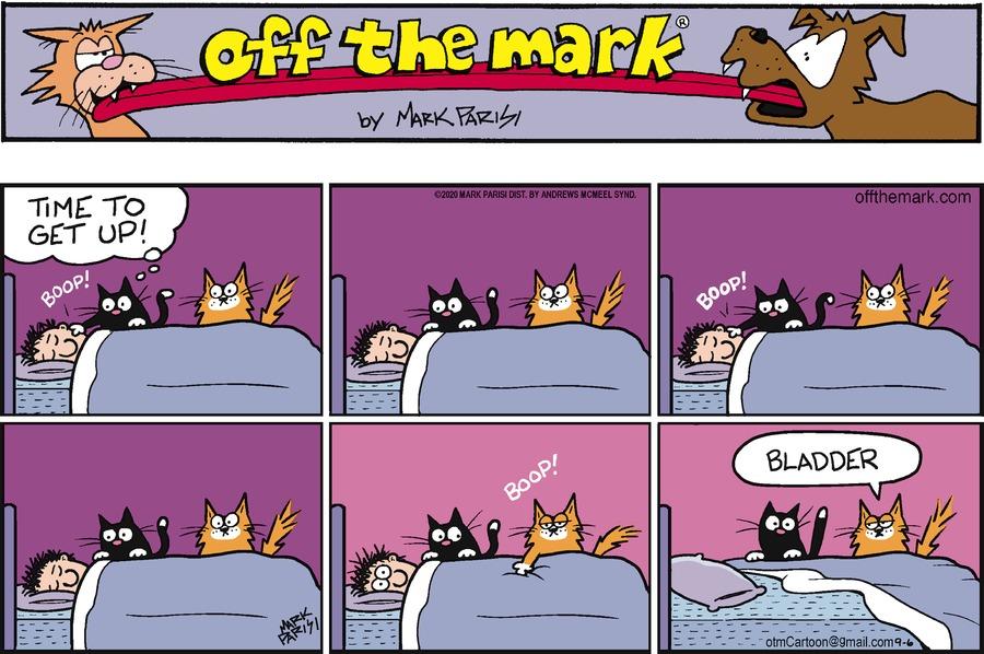 Off the Mark Comic Strip for September 06, 2020