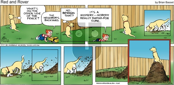 Red and Rover on Sunday July 26, 2020 Comic Strip