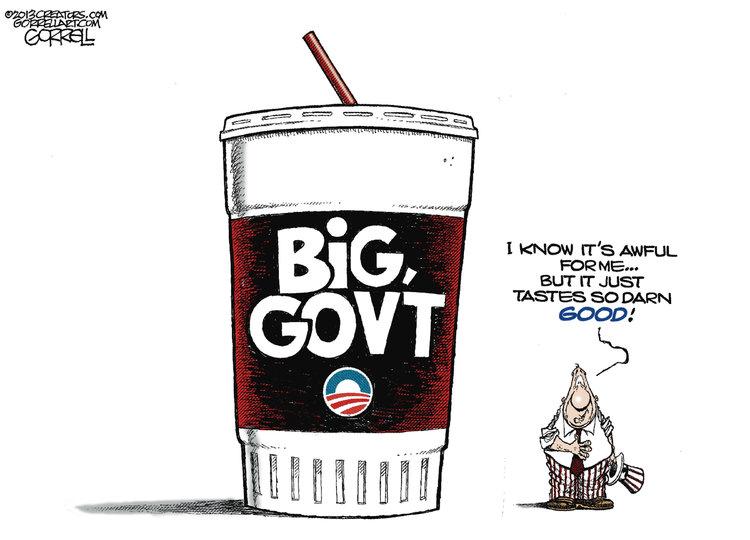 Bob Gorrell for Mar 15, 2013 Comic Strip
