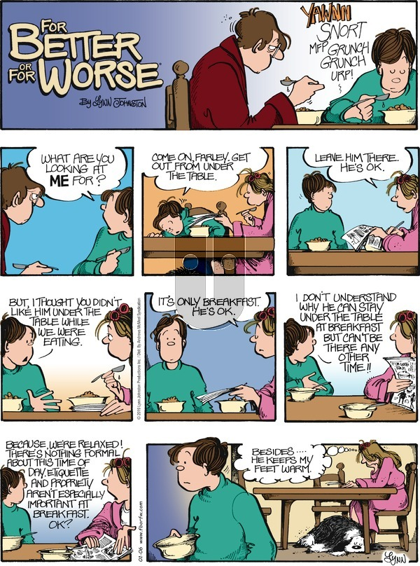 For Better or For Worse on Sunday January 6, 2019 Comic Strip