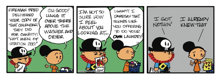 Pirate Mike Comic Strip for April 15, 2019
