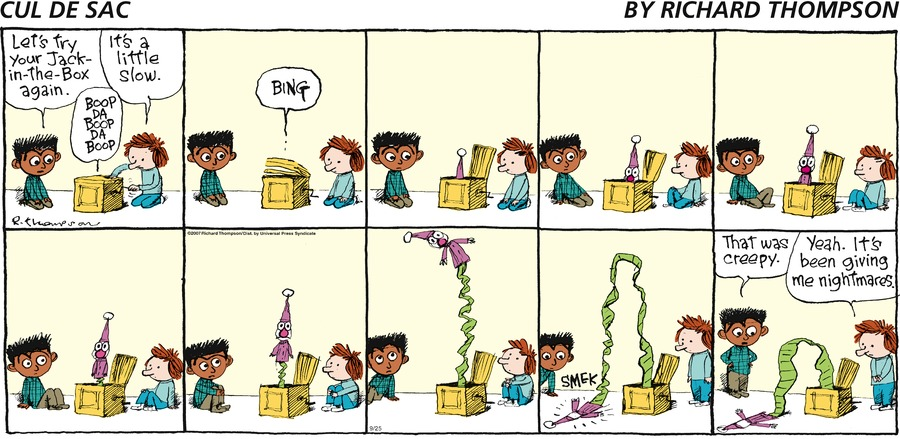 Cul de Sac Comic Strip for September 25, 2016