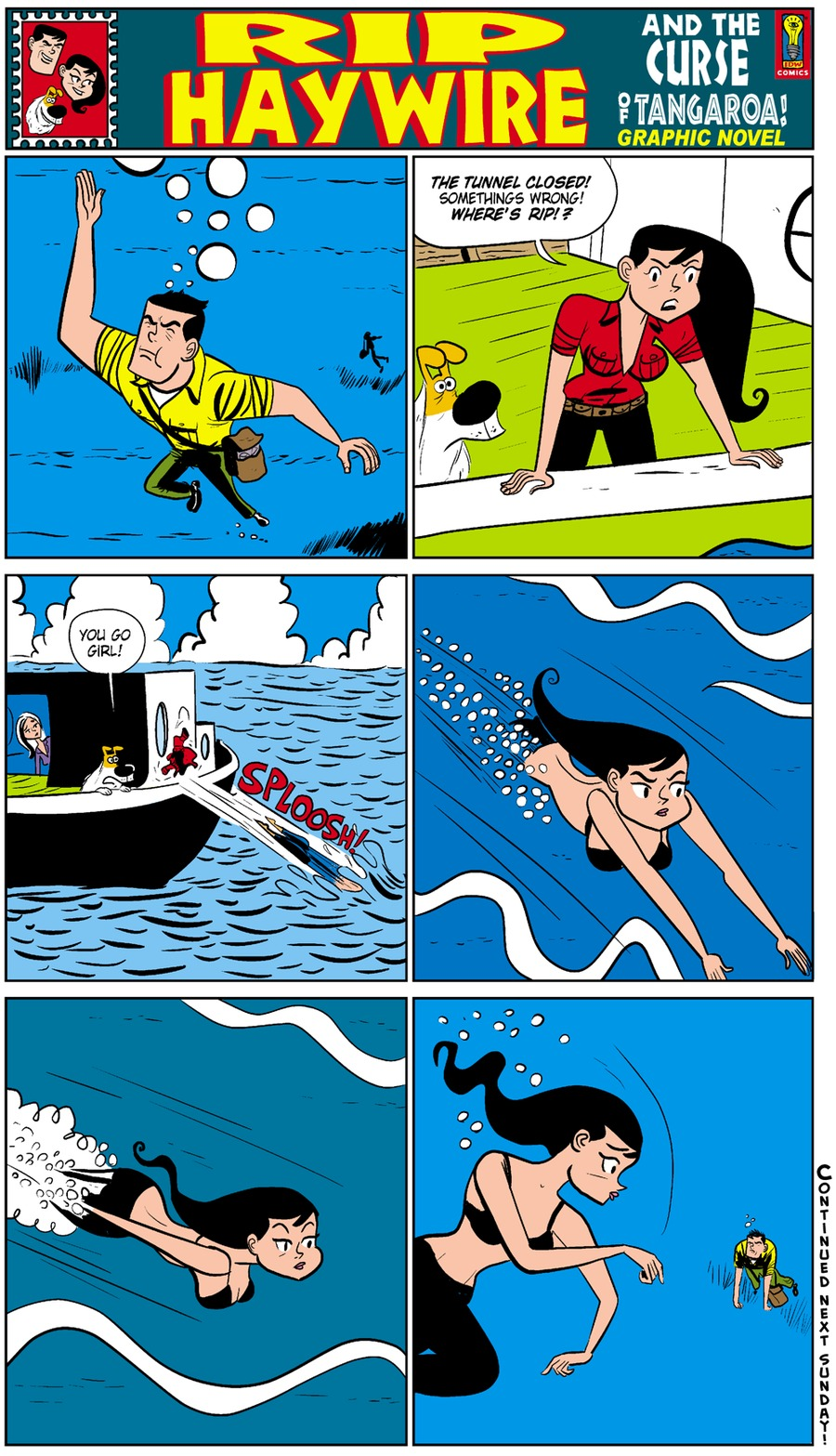 Rip Haywire Comic Strip for March 08, 2015