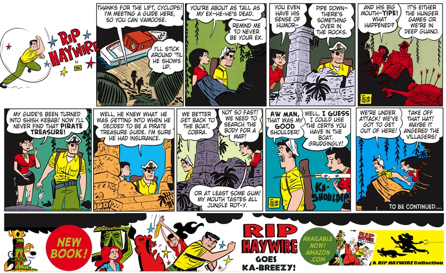 Rip Haywire Comic Strip for September 06, 2015