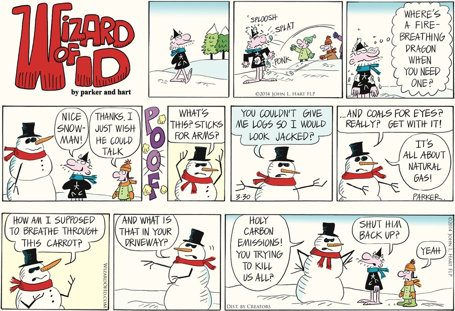 Wizard of Id for Mar 30, 2014 Comic Strip