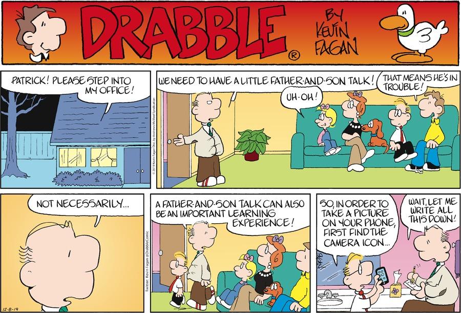 Drabble Comic Strip for December 08, 2019