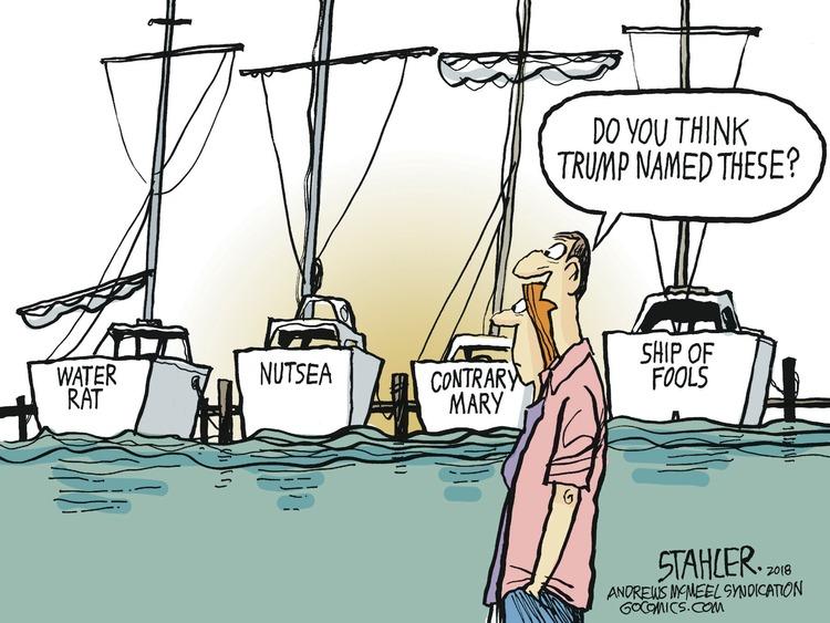 Jeff Stahler Comic Strip for August 26, 2018