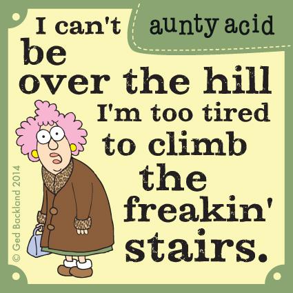 Aunty Acid Comic Strip for February 17, 2014