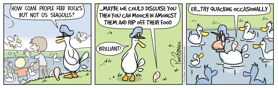 Ollie and Quentin for Mar 12, 2013 Comic Strip