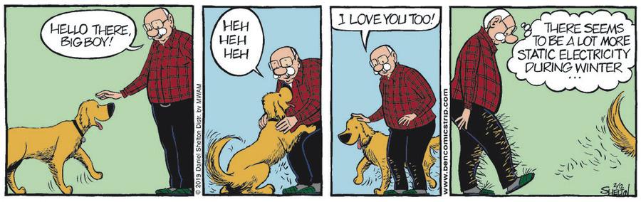 Ben Comic Strip for February 12, 2019