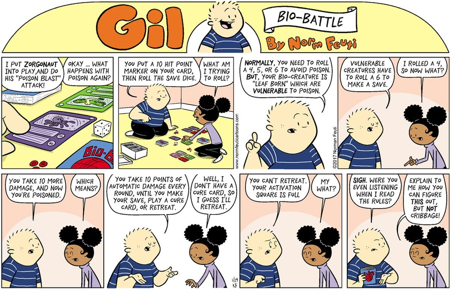 Gil Comic Strip for January 24, 2021