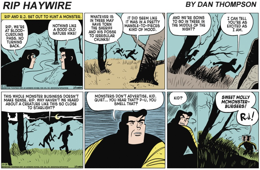 Rip Haywire Comic Strip for August 01, 2021