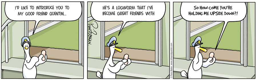 Ollie and Quentin for Jul 30, 2012 Comic Strip