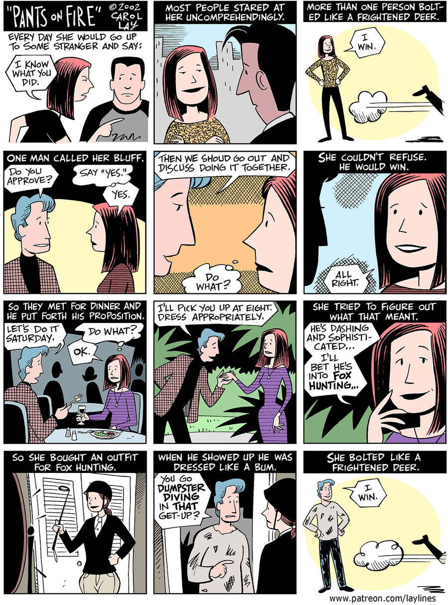 Lay Lines Comic Strip for July 05, 2021