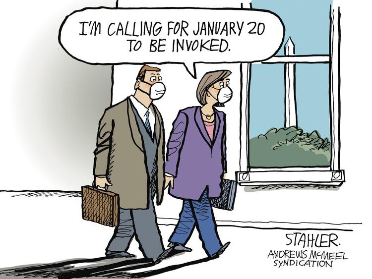 Jeff Stahler Comic Strip for January 10, 2021