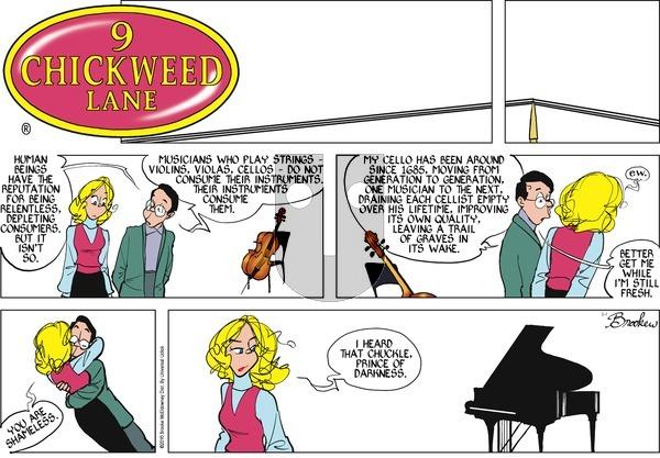 9 Chickweed Lane on Sunday February 7, 2016 Comic Strip