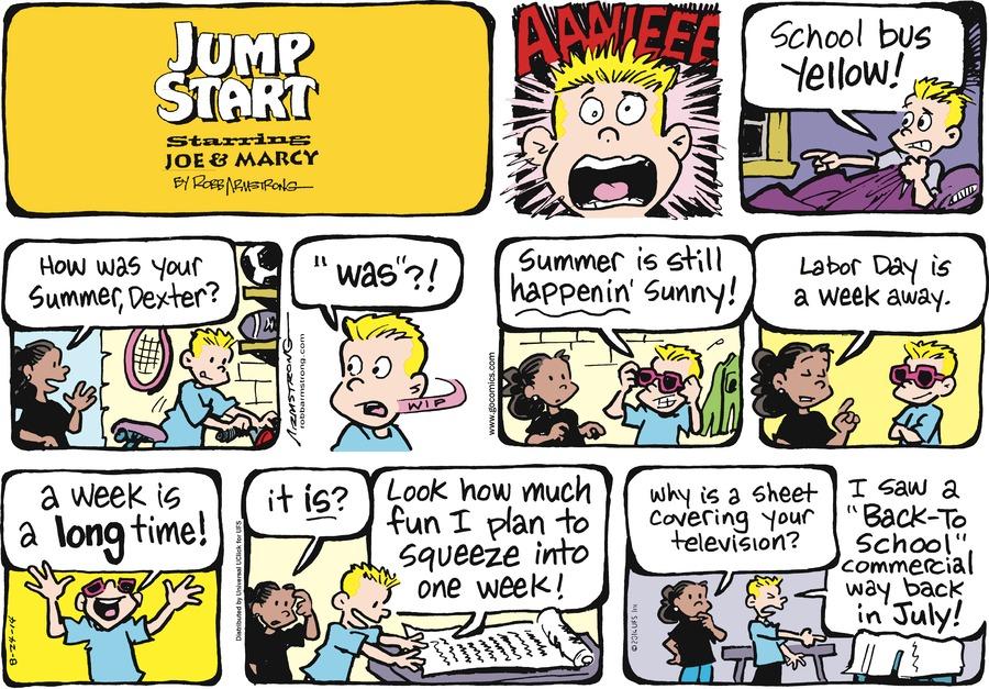 JumpStart for Aug 24, 2014 Comic Strip