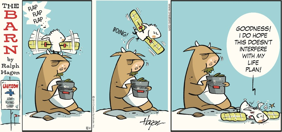 The Barn for Dec 1, 2013 Comic Strip