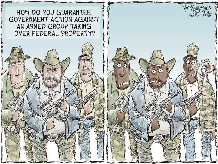 Nick Anderson Comic Strip for January 08, 2016