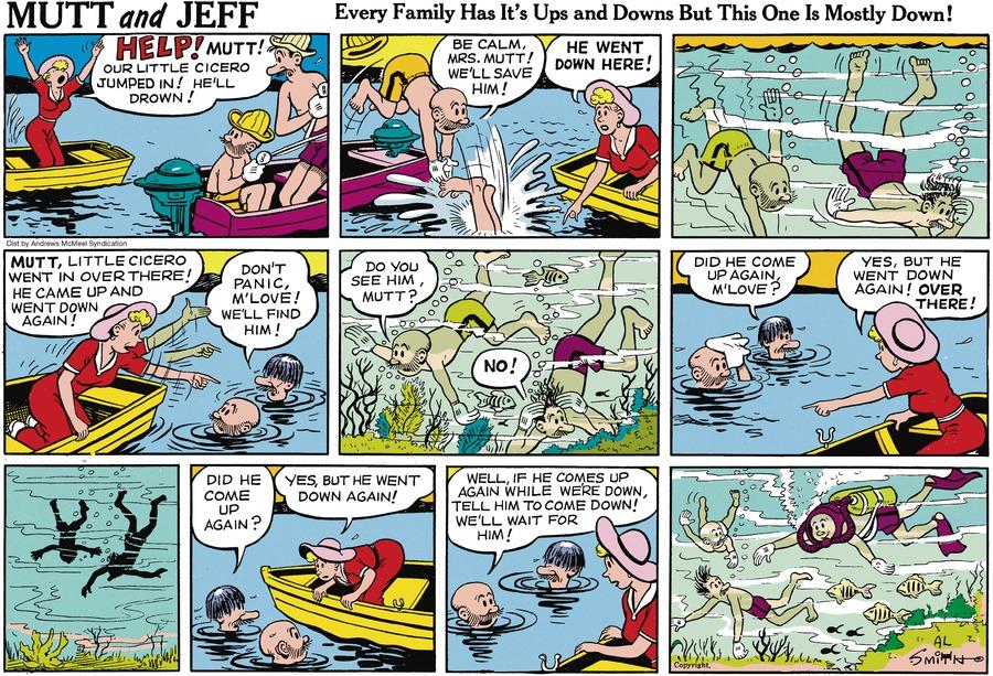 Mutt & Jeff Comic Strip for June 16, 2019