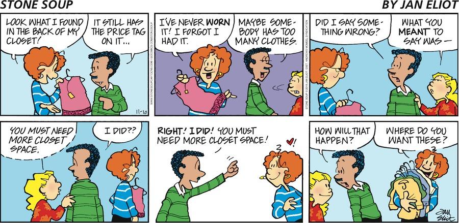 Stone Soup Comic Strip for November 10, 2019