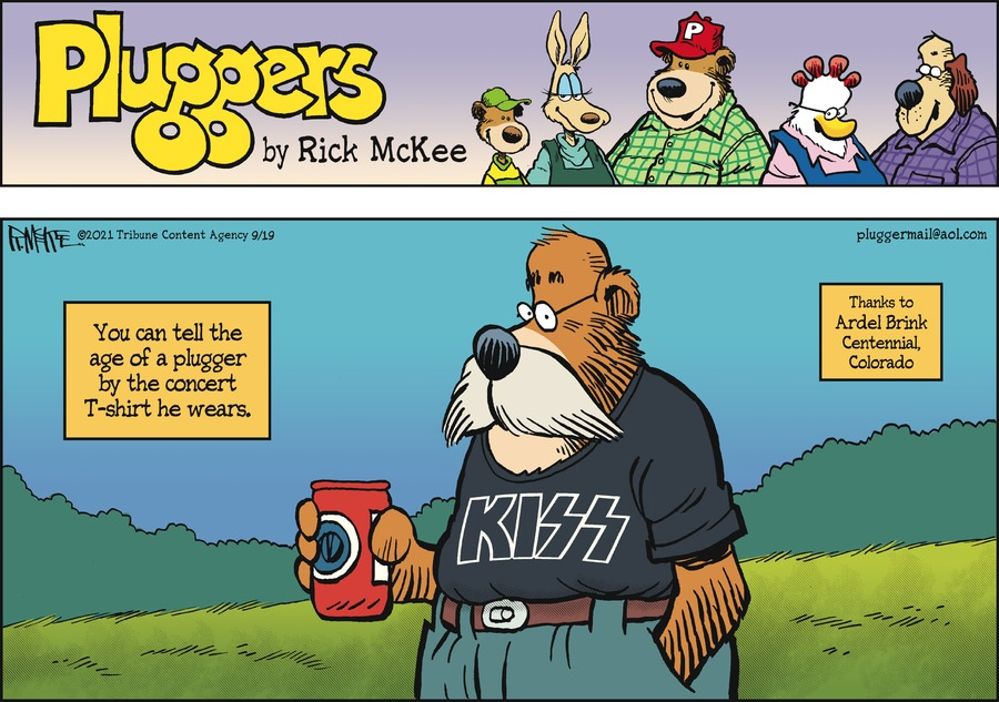 Pluggers Comic Strip for September 19, 2021