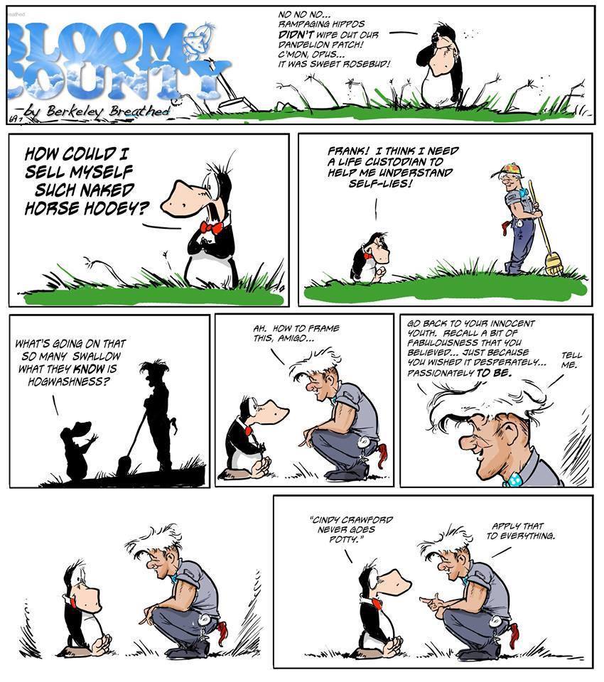 Bloom County 2018 by Berkeley Breathed for October 26, 2018