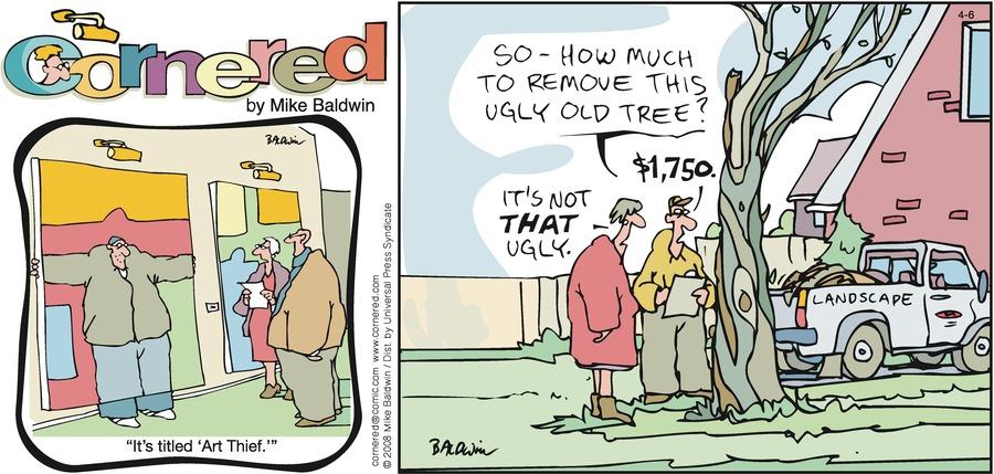 Cornered Comic Strip for April 06, 2008