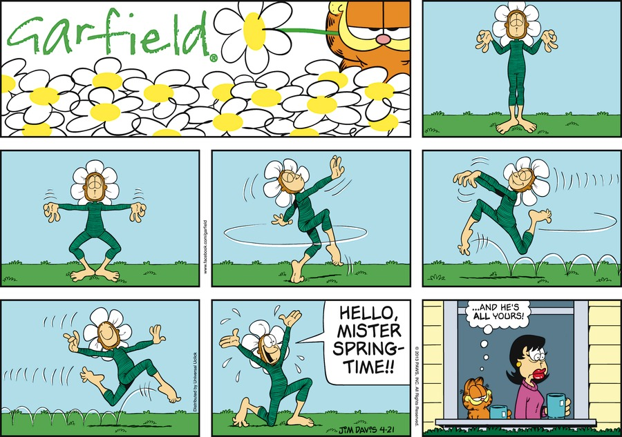 Jon:  Hello, Mister SpringTime!