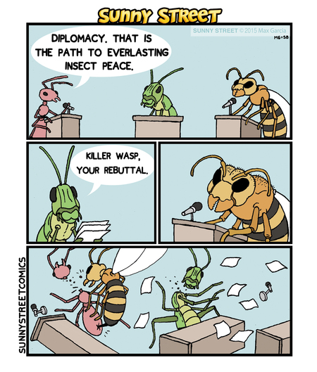 Sunny Street Comic Strip for April 18, 2016