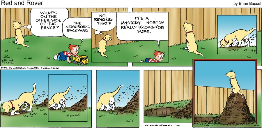 Red and Rover Comic Strip for July 26, 2020