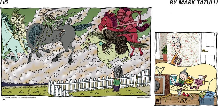 Lio for Oct 15, 2006 Comic Strip