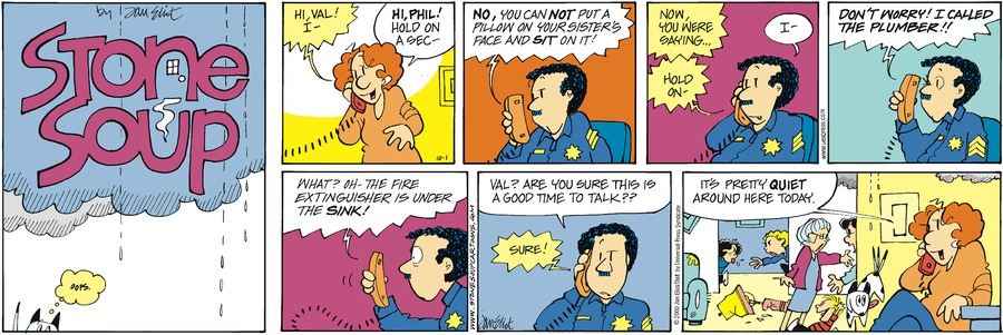 Stone Soup Classics Comic Strip for August 02, 2020